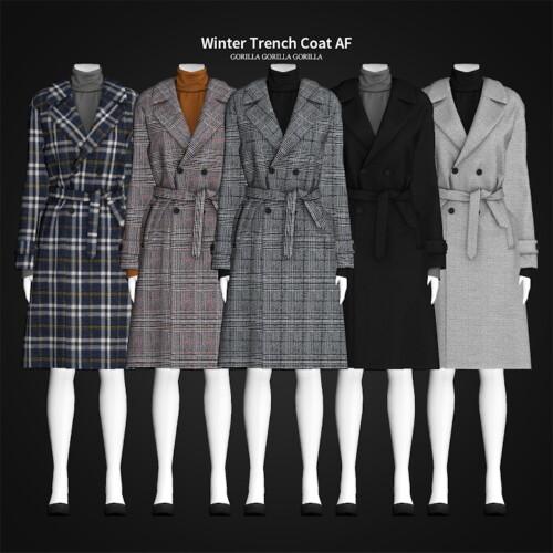 Winter Trench Coat Af