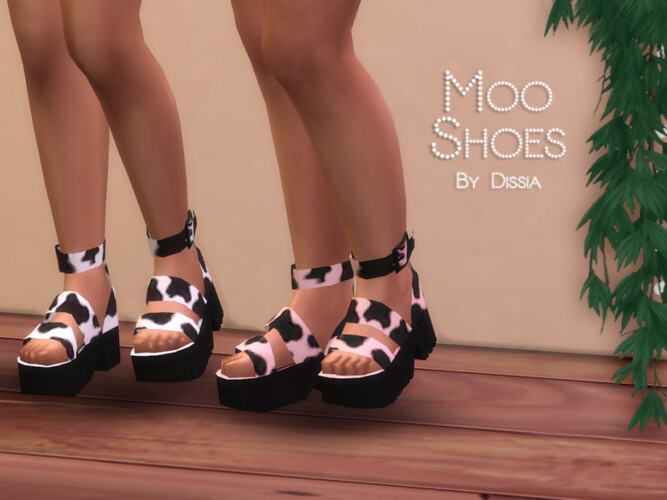 Moo Shoes By Dissia