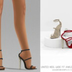 United Heel Wide Fit Ankle Sandals