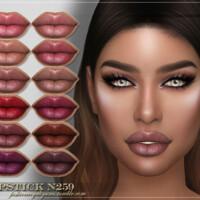 Frs Lipstick N259 By Fashionroyaltysims