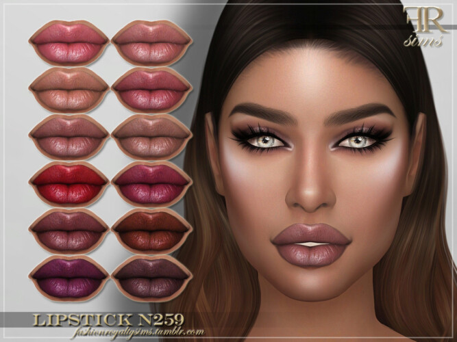 Frs Lipstick N259 By Fashionroyaltysims