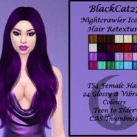 Nightcrawler Iconic Hair Retexture By Blackcat27