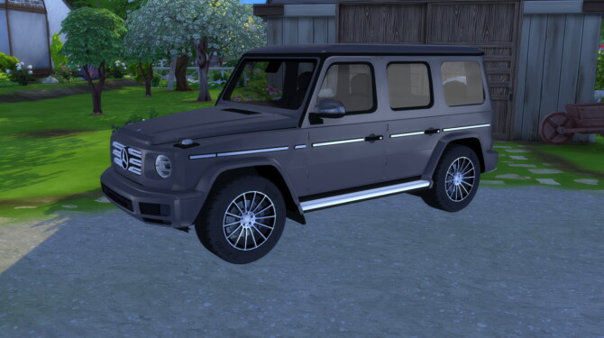 Sims 4 2019 Mercedes Benz G Class at LorySims