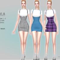 Myla Mini Dress By Helsoseira