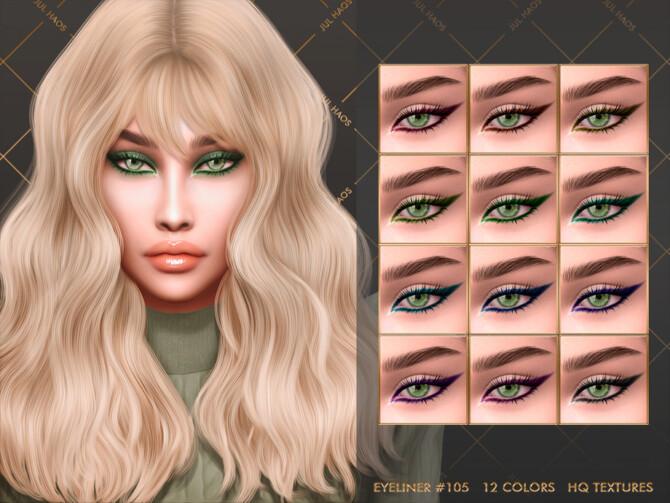 Sims 4 EYELINER #105 by JUL HAOS at TSR