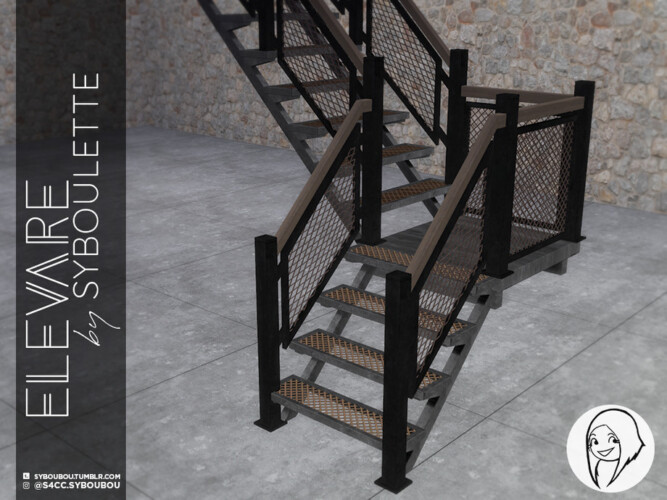 Elevare Part 1 Stairs By Syboubou