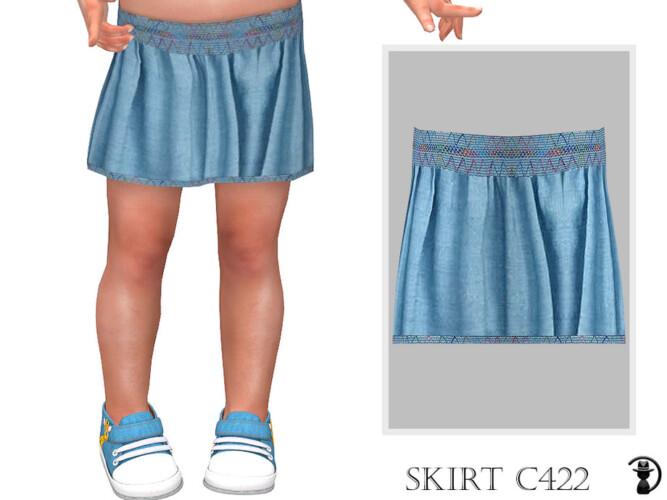 Skirt C422 By Turksimmer