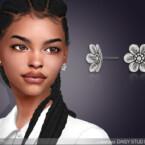 Daisy Stud Earrings By Feyona