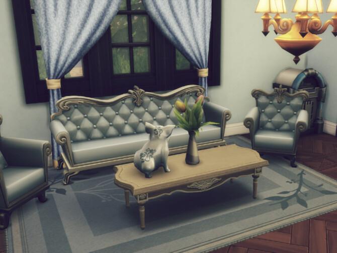 Sims 4 Queen Anna Big Tudor house by GenkaiHaretsu at TSR
