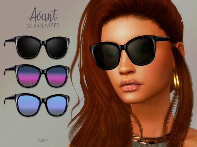 Sims 4 Avant Sunglasses by Suzue at TSR