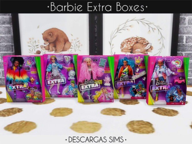 Doll Extra Boxes