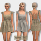 Spring Dress Dr414 By Laupipi