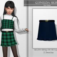 Gunilda Skirt By Katpurpura