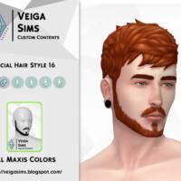 Facial Hair Style 16 By David_mtv