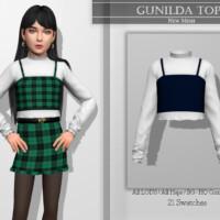Gunilda Top By Katpurpura