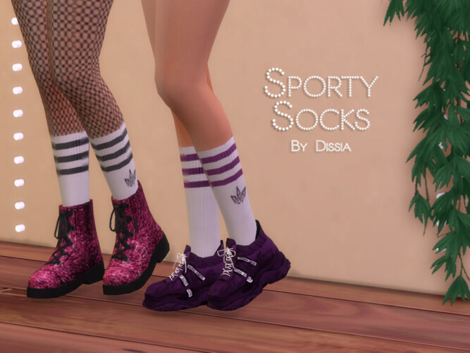 Sporty Socks By Dissia