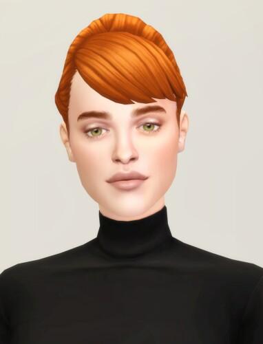 Chloe Bun Hair