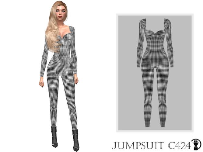 Jumpsuit C424 By Turksimmer