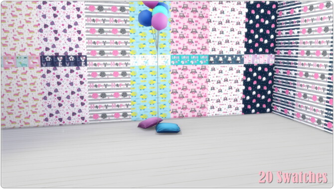 Sims 4 Toddlers Room Collection at Annett's Sims 4 Welt