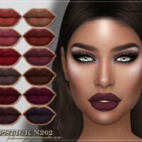 Frs Lipstick N262 By Fashionroyaltysims