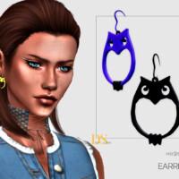 Owl Earrings By Dailystorm