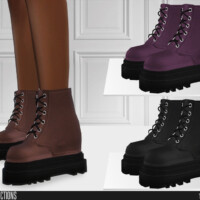676 Leather Boots By Shakeproductions