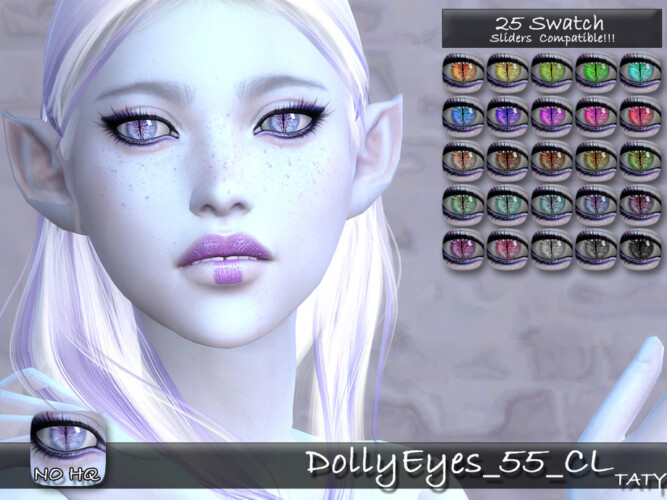 Dolly Eyes 55 By Tatygagg