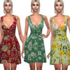 Mesh Floral Summer Dresses By Saliwa