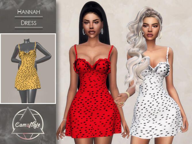 Hannah Dress By Camuflaje