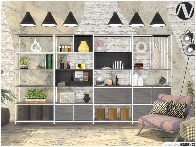 Sims 4 Binghamton Office Extra by ArtVitalex at TSR