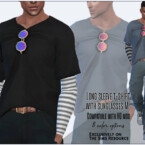 Long Sleeve T-shirt With Sunglasses M By Sims House