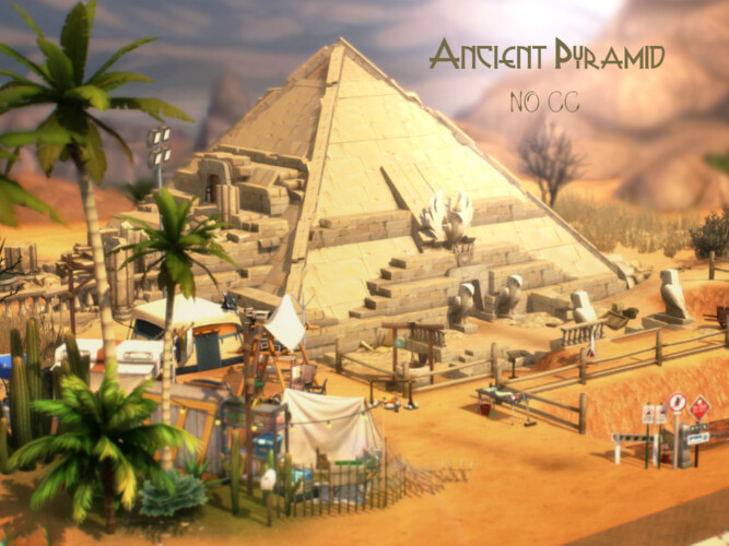 Ancient Pyramid By Virtualfairytales