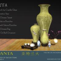 Atlanta Set Of Decor Items By Padre