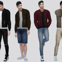 Core Leather Jacket By Mclaynesims