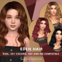 Eden Hair For Kids By Sonyasimscc
