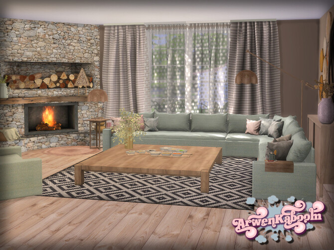 Sims 4 Pure Morning Set 3 Decor by ArwenKaboom at TSR