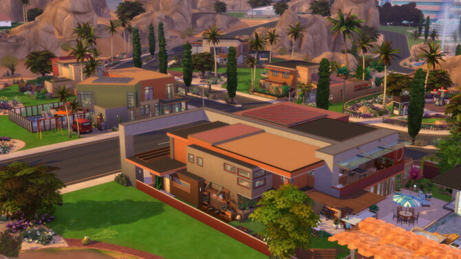 Sims 4 Roomies Mansion by Brand at Mod The Sims 4