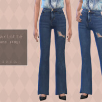 Charlotte Jeans (bootcut) By Pipco