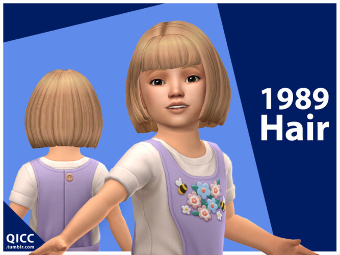 1989 Hair For Toddler By Qicc