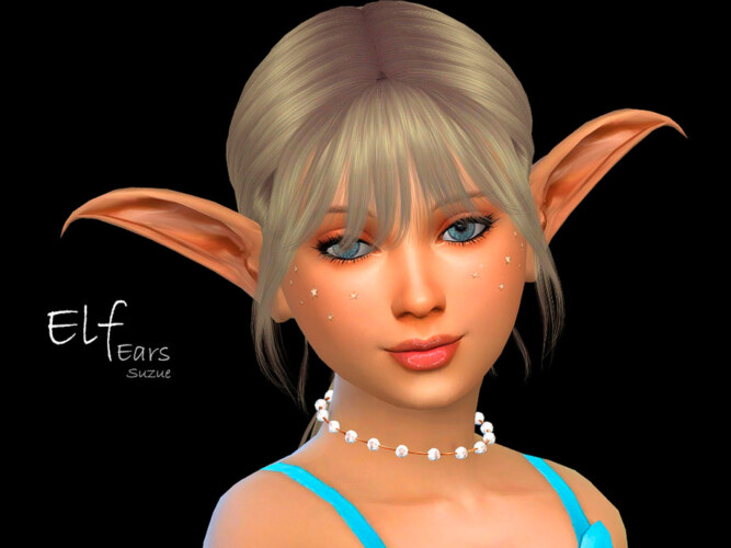Elf Child Ears By Suzue