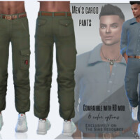 Men's Cargo Pants By Sims House