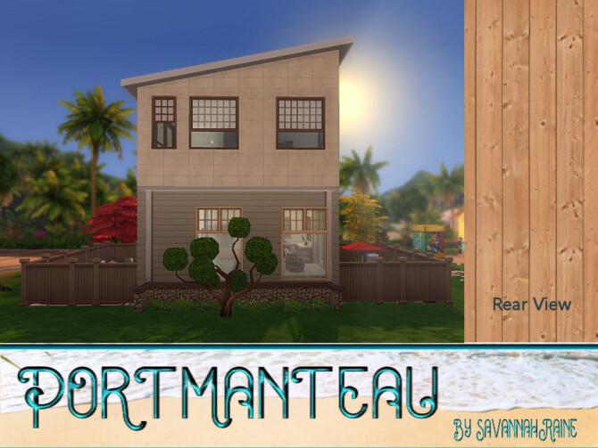 Sims 4 Portmanteau by by SavannahRaine at Mod The Sims 4