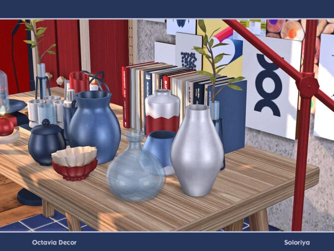 Sims 4 Octavia Decor by soloriya at TSR