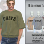 Men's Oversized T-shirt By Sims House