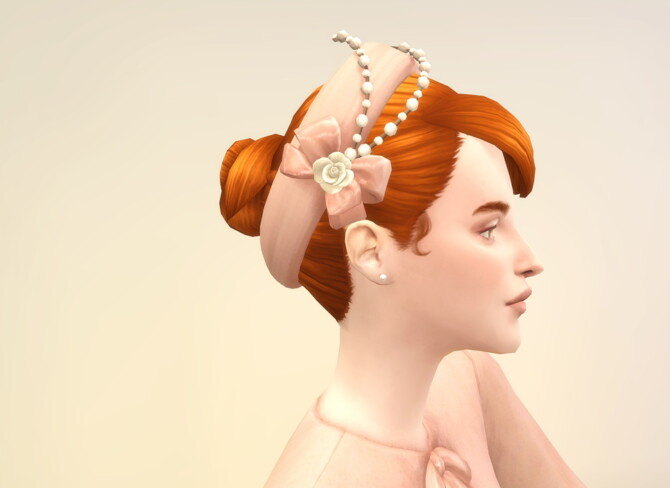 Sims 4 Lady of Hat 2 at Rusty Nail