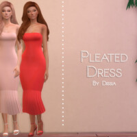 Pleated Dress By Dissia