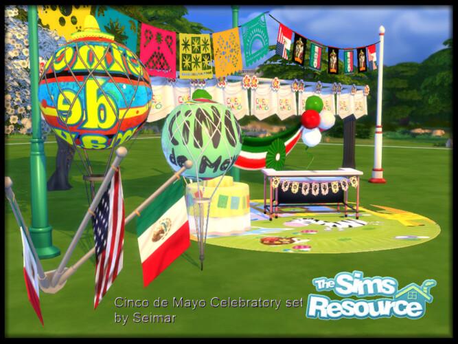 Cinco De Mayo Celebratory Set By Seimar8