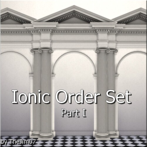 Ionic Order Set Part I By Thejim07