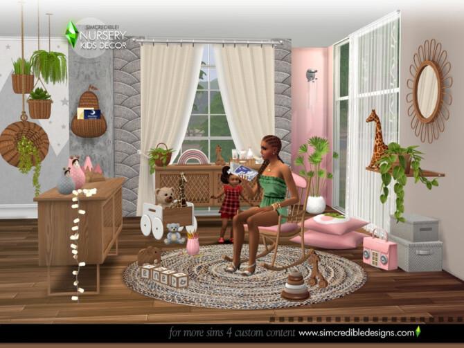 Sims 4 Naturalis Kids decor by SIMcredible at TSR