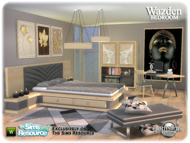 Wazden Bedroom By Jomsims